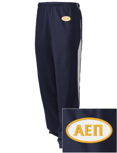 Alpha Epsilon Pi Embroidered Holloway Men's Pivot Warm Up Pants