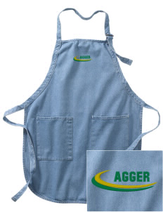 Alpha Gamma Rho Embroidered Full-Length Apron with Pockets