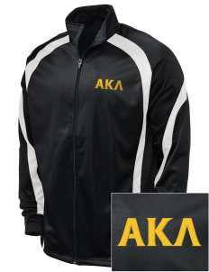 Alpha Kappa Lambda Embroidered Holloway Men's Tricotex Warm Up Jacket