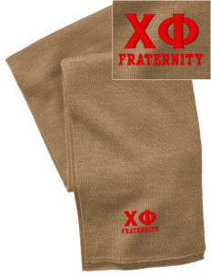 Chi Phi  Embroidered Knitted Scarf