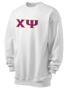 Chi Psi Men's 7.8 oz Lightweight Crewneck Sweatshirt