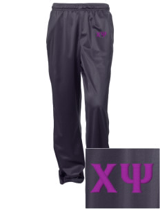 Chi Psi Embroidered Women's Tricot Track Pants
