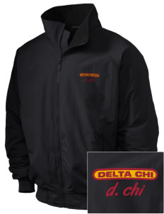 Delta Chi Embroidered Holloway Men's Tall Jacket