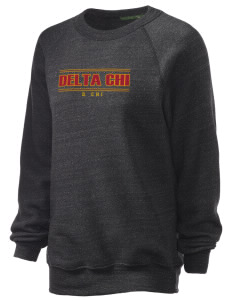 Delta Chi Unisex Alternative Eco-Fleece Raglan Sweatshirt