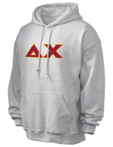Delta Chi Ultra Blend 50/50 Hooded Sweatshirt
