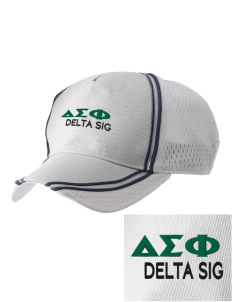 Delta Sigma Phi  Embroidered Champion Athletic Cap