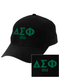 Delta Sigma Phi Embroidered Low-Profile Cap