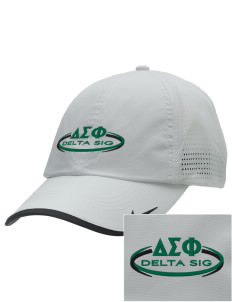 Delta Sigma Phi Embroidered Nike Dri-FIT Swoosh Perforated Cap