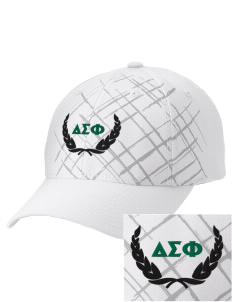 Delta Sigma Phi Embroidered Mixed Media Cap