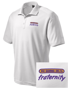 Phi Gamma Delta Embroidered Nike Men's Dri-Fit Classic Polo