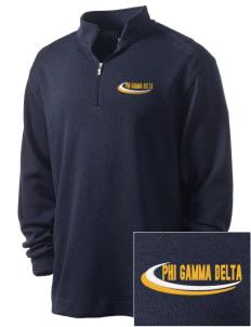Phi Gamma Delta Embroidered Nike Men's Golf Heather Cover Up