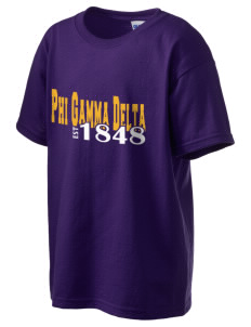 Phi Gamma Delta Kid's 6.1 oz Ultra Cotton T-Shirt