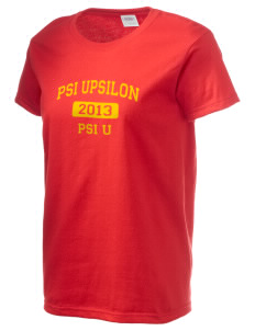 Psi Upsilon Women's 6.1 oz Ultra Cotton T-Shirt