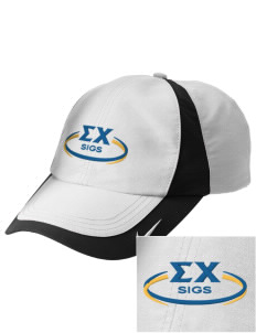 Sigma Chi Embroidered Nike Golf Colorblock Cap