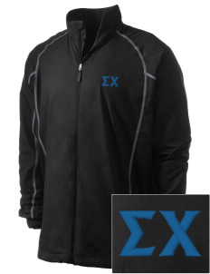 Sigma Chi Embroidered Men's Nike Golf Full Zip Wind Jacket