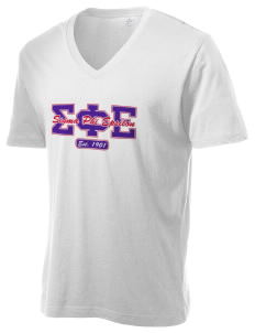 Sigma Phi Epsilon Alternative Men's 3.7 oz Basic V-Neck T-Shirt