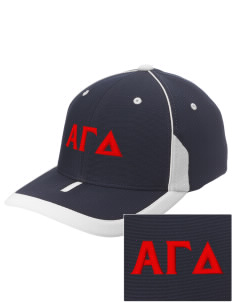 Alpha Gamma Delta Embroidered M2 Universal Fitted Contrast Cap