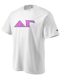 Delta Gamma Champion Men's Tagless T-Shirt