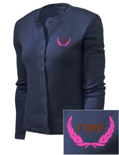 Gamma Phi Beta Embroidered Women's Cardigan Sweater