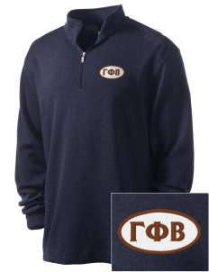 Gamma Phi Beta Embroidered Nike Men's Golf Heather Cover Up