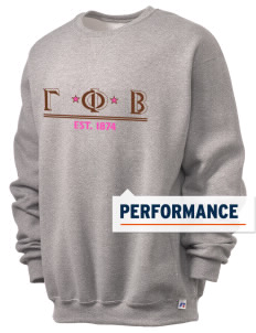 Gamma Phi Beta  Russell Men's Dri-Power Crewneck Sweatshirt