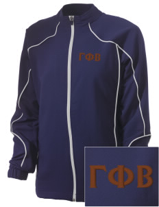 Gamma Phi Beta Embroidered Russell Women's Full Zip Jacket