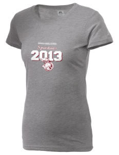 Eufaula Middle School Spartans  Russell Women's Campus T-Shirt
