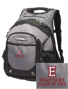 Eufaula Middle School Spartans Embroidered OGIO Fugitive Backpack