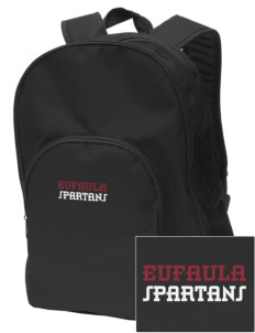 Eufaula Middle School Spartans Embroidered Value Backpack