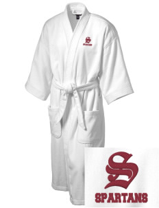Eufaula Middle School Spartans Embroidered Terry Velour Robe
