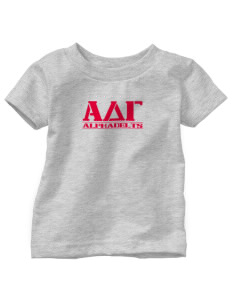 Alpha Delta Gamma  Toddler Jersey T-Shirt