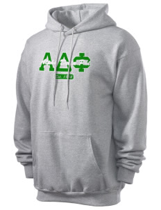 Alpha Delta Phi Men's 7.8 oz Lightweight Hooded Sweatshirt