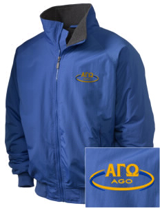 Alpha Gamma Omega Embroidered Holloway Men's Tall Jacket