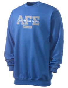 Alpha Gamma Sigma Men's 7.8 oz Lightweight Crewneck Sweatshirt