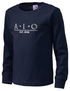 Alpha Iota Omicron  Kid's Long Sleeve T-Shirt