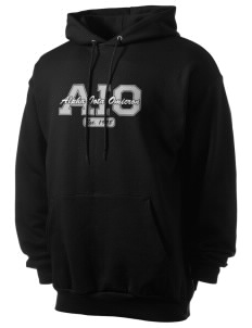 Alpha Iota Omicron Men's 7.8 oz Lightweight Hooded Sweatshirt