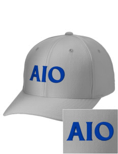 Alpha Iota Omicron Embroidered Wool Adjustable Cap