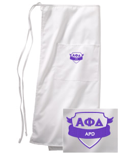 Alpha Phi Delta Embroidered Full Bistro Bib Apron