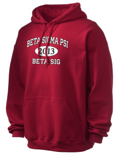 Beta Sigma Psi Ultra Blend 50/50 Hooded Sweatshirt