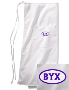 Beta Upsilon Chi Embroidered Full Bistro Bib Apron