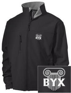 Beta Upsilon Chi Embroidered Men's Soft Shell Jacket