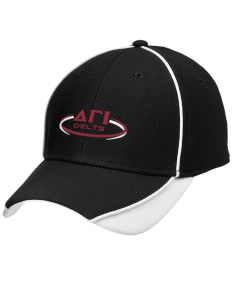 Delta Gamma Iota Embroidered New Era Contrast Piped Performance Cap