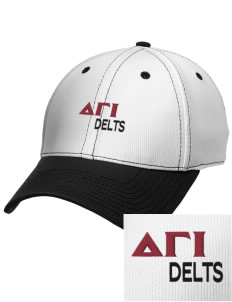 Delta Gamma Iota Embroidered New Era Snapback Performance Mesh Contrast Bill Cap