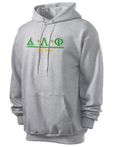 Delta Lambda Phi Men's 7.8 oz Lightweight Hooded Sweatshirt