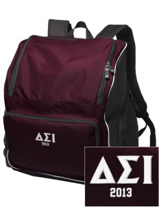Delta Sigma Iota Embroidered Holloway Backpack