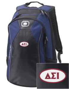 Delta Sigma Iota Embroidered OGIO Marshall Backpack