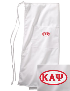 Kappa Alpha Psi Embroidered Full Bistro Bib Apron