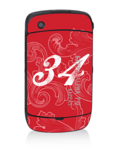 Kappa Alpha Psi Black Berry 8530 Curve Skin