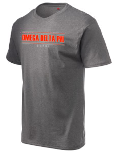 Omega Delta Phi Hanes Men's 6 oz Tagless T-shirt