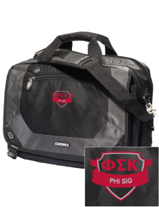 Phi Sigma Kappa Embroidered OGIO Corporate City Corp Messenger Bag
